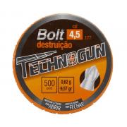 CHUMBINHO TECHNOGUN BOLT 4,5 - 500 UNIDADES