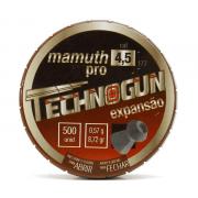 CHUMBINHO TECHNOGUN MAMUTH PRO 4,5 - 500 UNIDADES