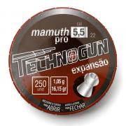 CHUMBINHO TECHNOGUN MAMUTH PRO 5,5 - 250 UNIDADES