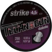 CHUMBINHO TECHNOGUN STRIKE DIABOLO 4,5 - 250 UNIDADES