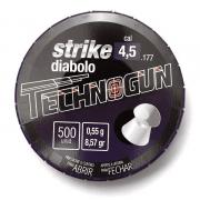 CHUMBINHO TECHNOGUN STRIKE DIABOLO 4,5 - 500 UNIDADES
