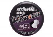 CHUMBINHO TECHNOGUN STRIKE DIABOLO 5,5 - 250 UNIDADES