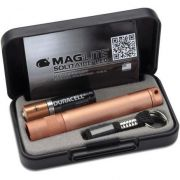 LANTERNA MAGLITE SOLITAIRE C/LED ROSE GOLD LUXO 1AAA - CÓD. J3ASV2