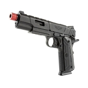PISTOLA AIRSOFT 1911 REDWINGS GREEN GÁS SLIDE METAL BLOWBACK - ROSSI