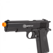 PISTOLA AIRSOFT COLT 1911 HPA SLIDE METAL SPRING - CYBERGUN