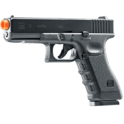 PISTOLA AIRSOFT GLOCK G17 A GÁS CO2 SLIDE METAL BLOWBACK - UMAREX