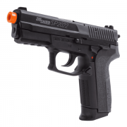 PISTOLA AIRSOFT SIG SAUER SP2022 A GÁS CO2 SLIDE METAL FIXO - CYBERGUN