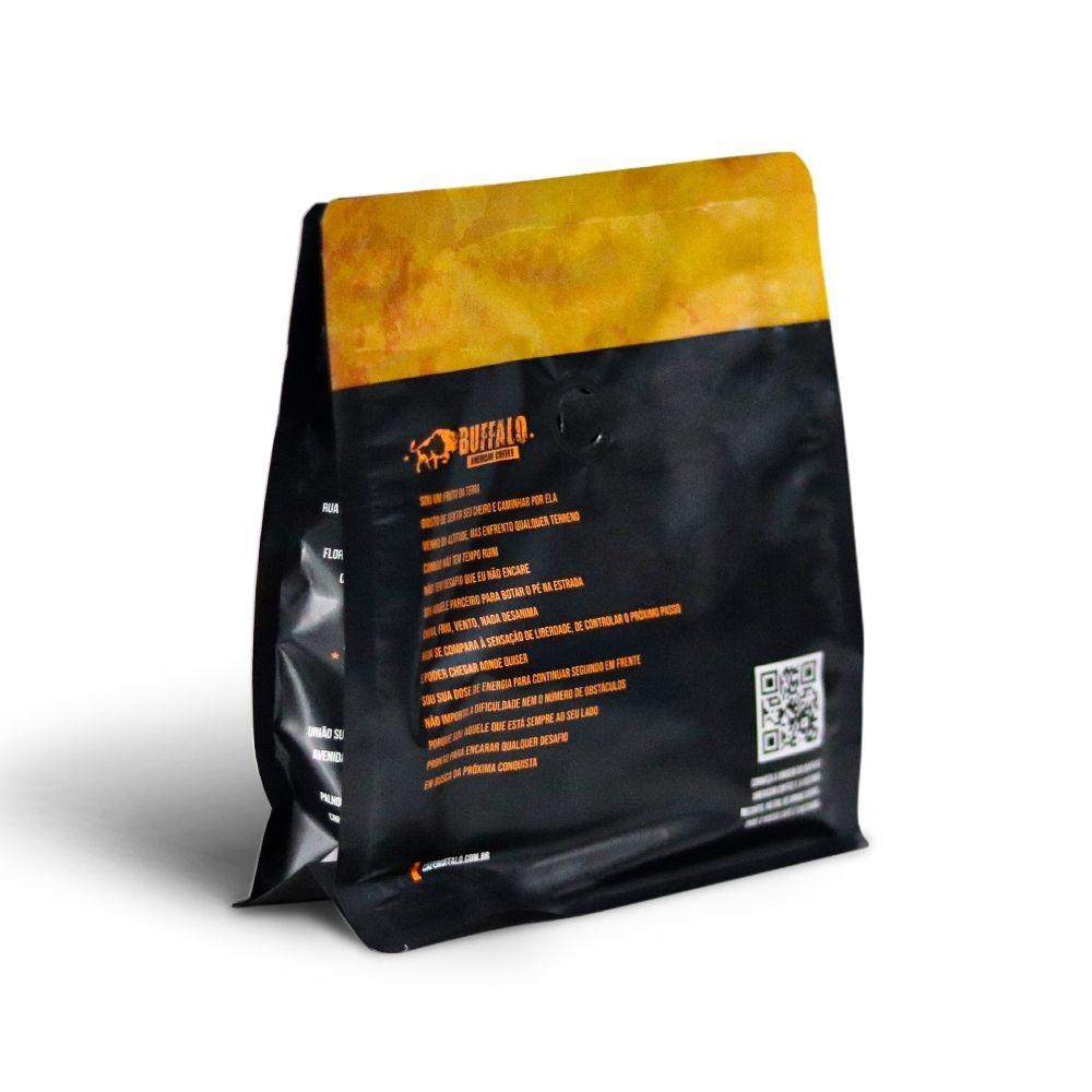 CAFÉ MOÍDO BUFFALO AMERICAN COFFEE MONTANA BLEND 250GR - INVICTUS
