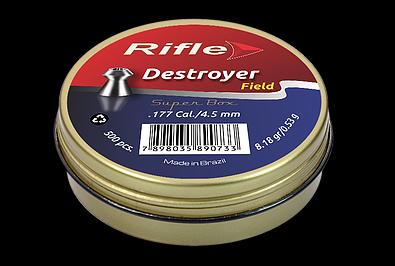 CHUMBINHO RIFLE FIELD DESTROYER 4.5 - 500 UND SUPER BOX