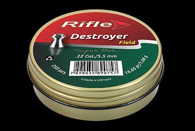 CHUMBINHO RIFLE FIELD DESTROYER 5.5 - 250 UND SUPER BOX