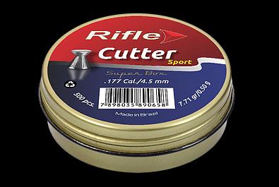 CHUMBINHO RIFLE SPORT CUTTER 4.5 - 500 UND SUPER BOX