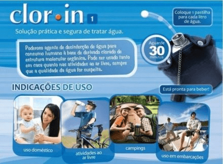 CLORIN 1MG (6 CARTELAS C/ 10 UN CADA) - NTK