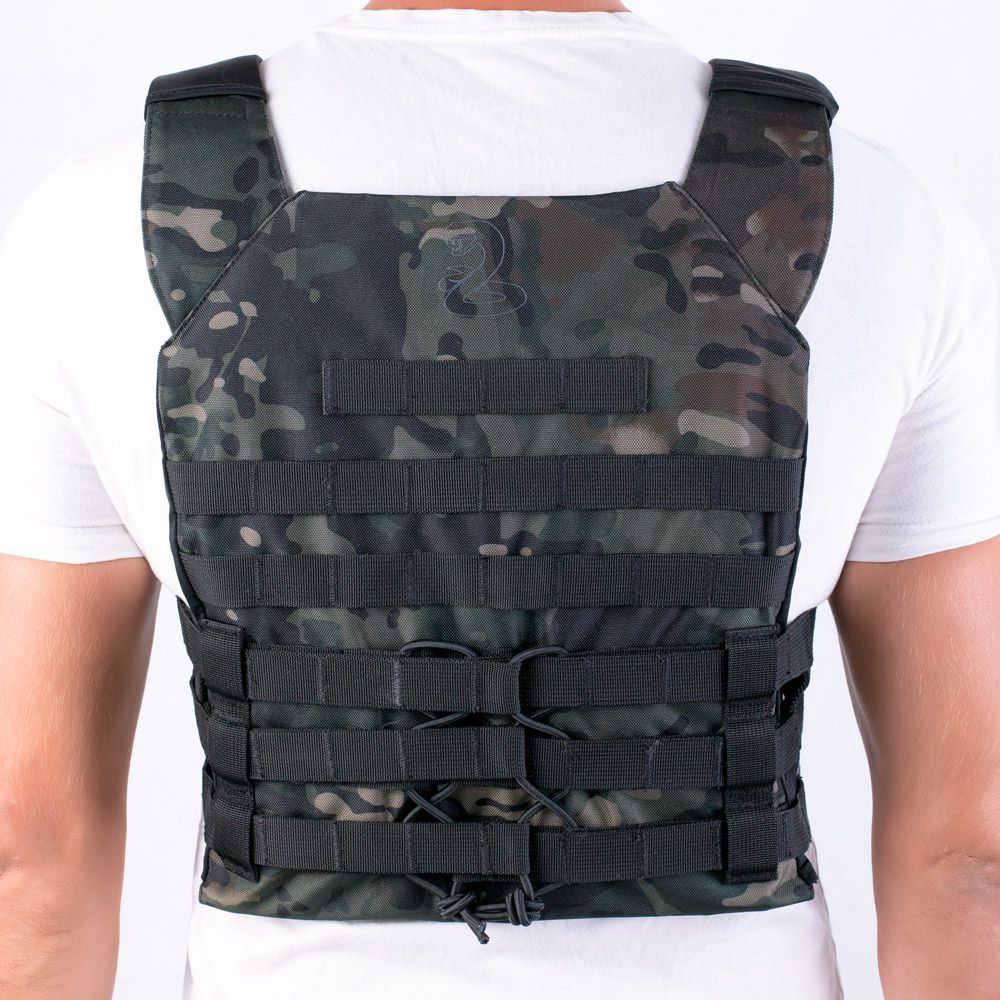 COLETE TÁTICO PLATE CARRIER BRFORCE GLADIADOR
