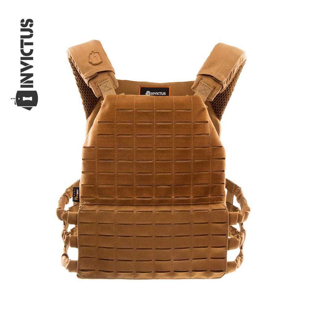 COLETE TÁTICO PLATE CARRIER INVICTUS APOLO