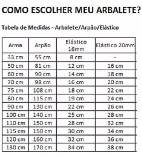 ELASTICO P/ ARBALETE 16MM PRETO - DIVECOM