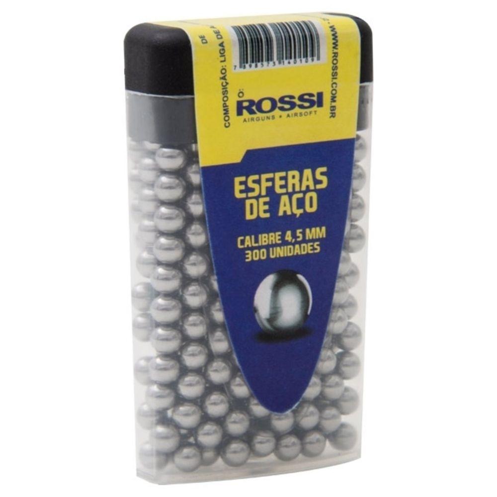 ESFERA DE AÇO ROSSI 4,5MM C/ 300 - ROSSI