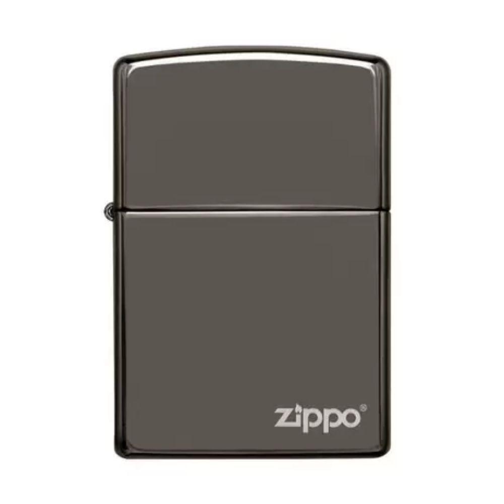 ISQUEIRO ZIPPO CLASSIC BLACK ICE LOGO - COD. 150ZL