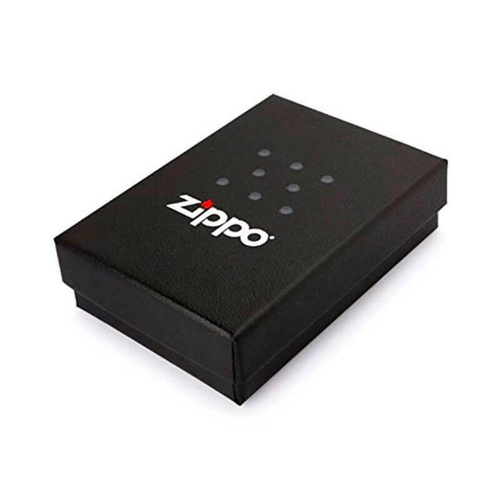 ISQUEIRO ZIPPO CLASSIC LOGO DOTS BRANCO FOSCO - COD. 29689