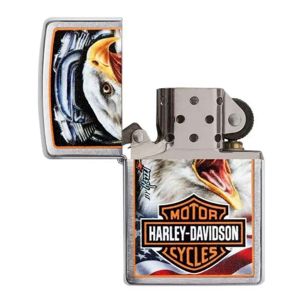 ISQUEIRO ZIPPO HARLEY-DAVIDSON MAZZI EAGLE - COD. 29499