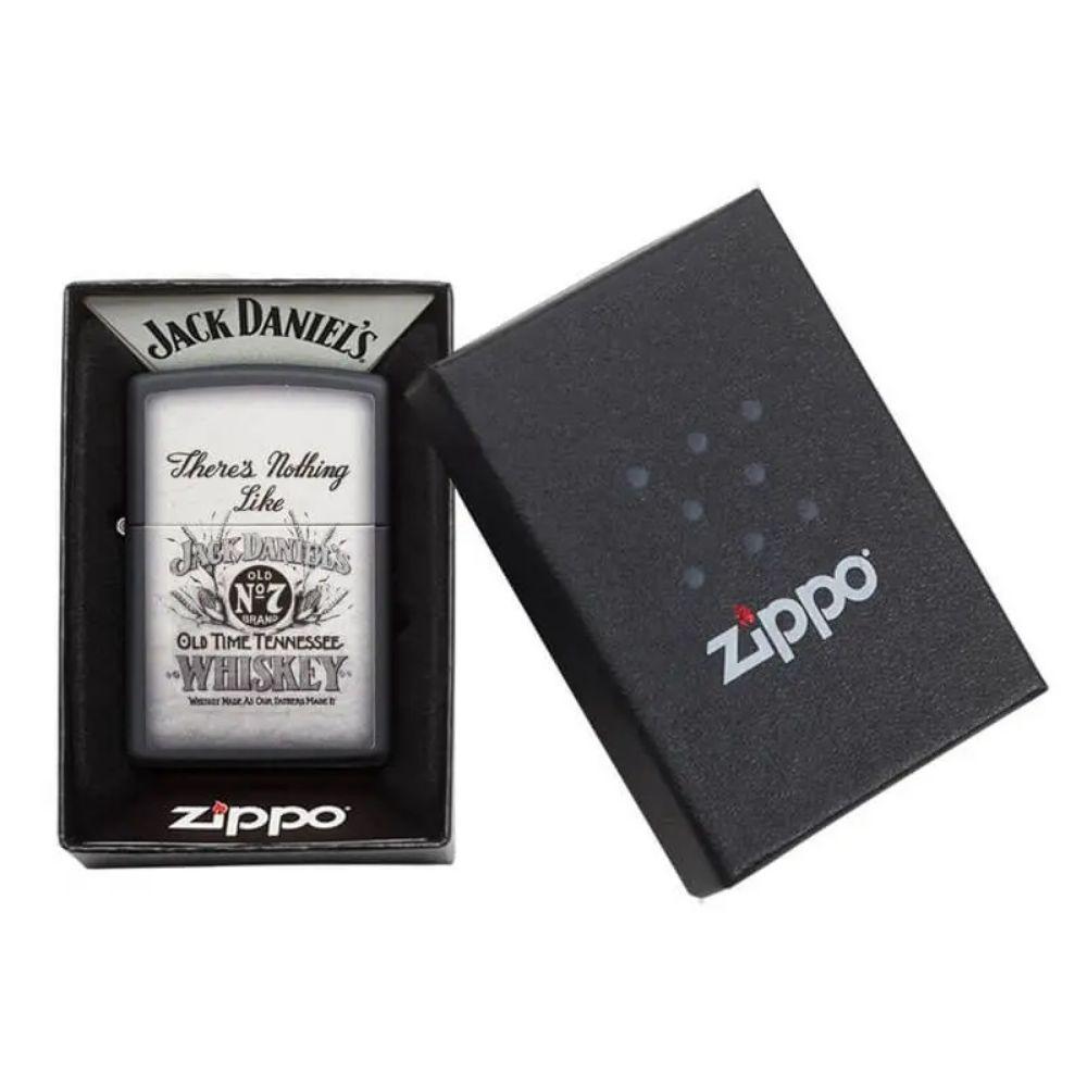 "ISQUEIRO ZIPPO JACK DANIELS ""There's Nothing Like Jack Daniels"" - COD. 29293"