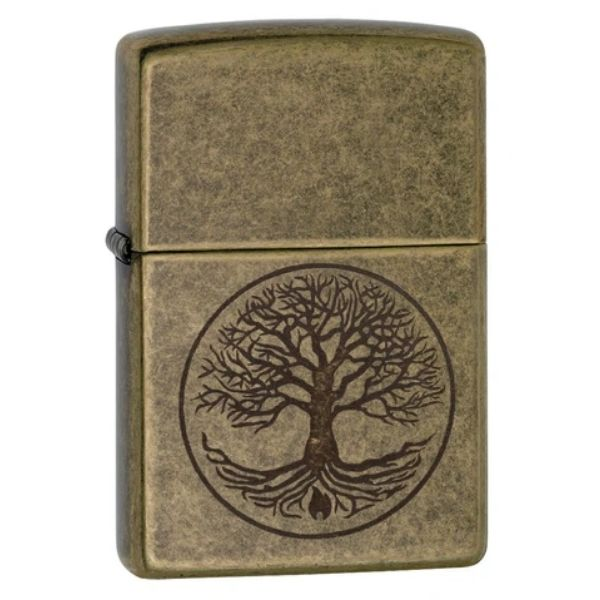 ISQUEIRO ZIPPO TREE OF LIFE - COD. 29149