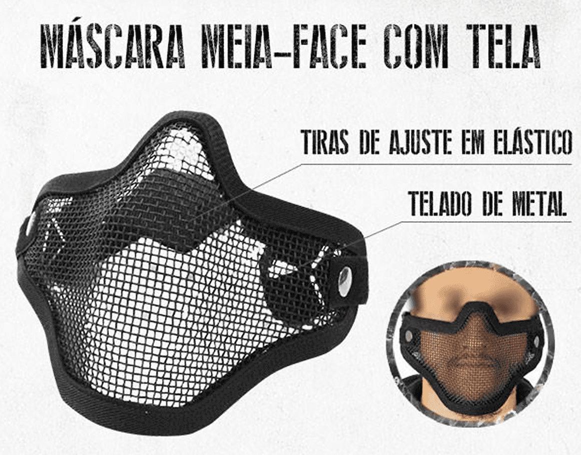 MASCARA COM TELA - NTK