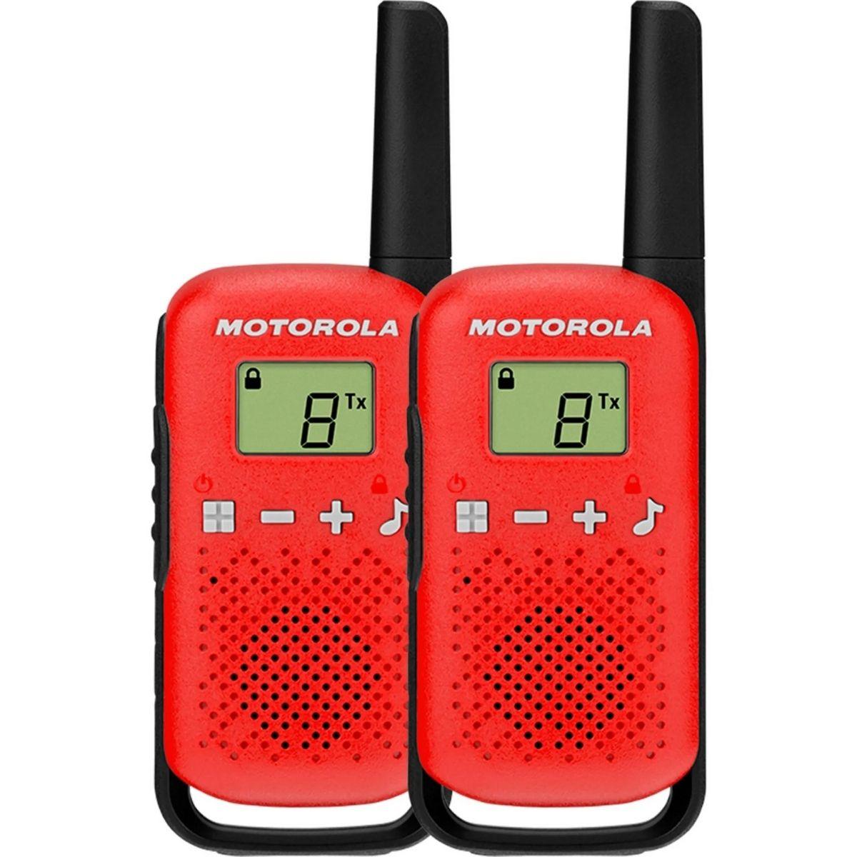 RADIO TALKABOUT MOTOROLA T110BR 25KM