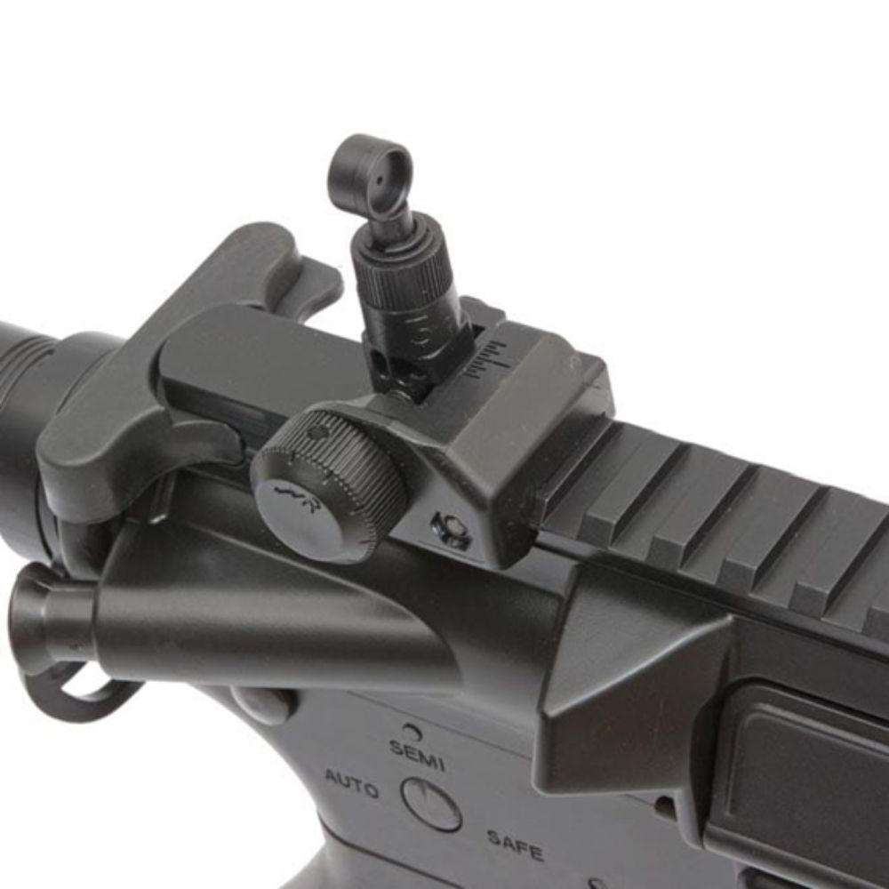 RIFLE DE AIRSOFT M4A1 CUSTOM ET CM515S ELET.6MM - CYMA