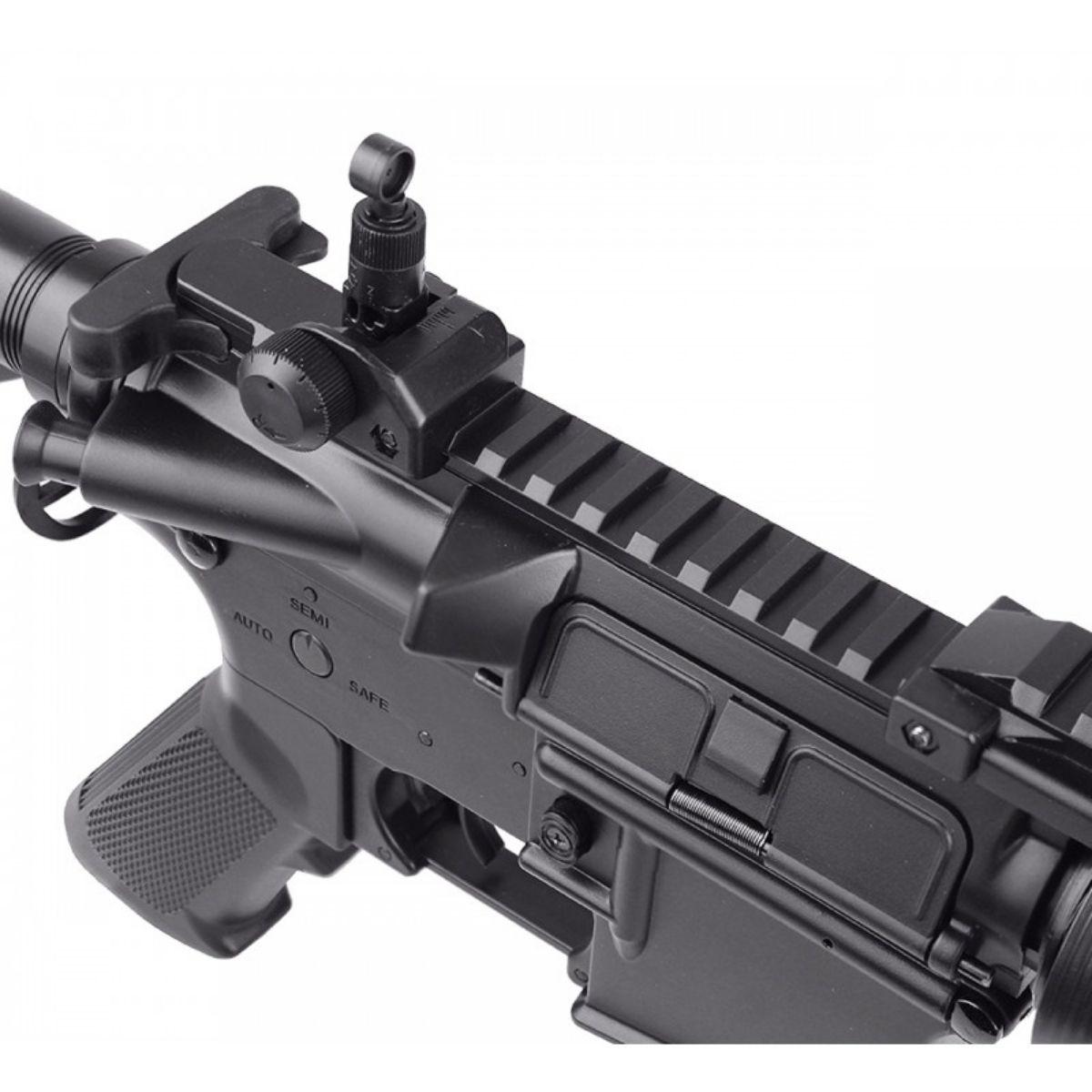 RIFLE DE AIRSOFT M4A1 RAS II CQB CM505 ELET. 6MM - CYMA