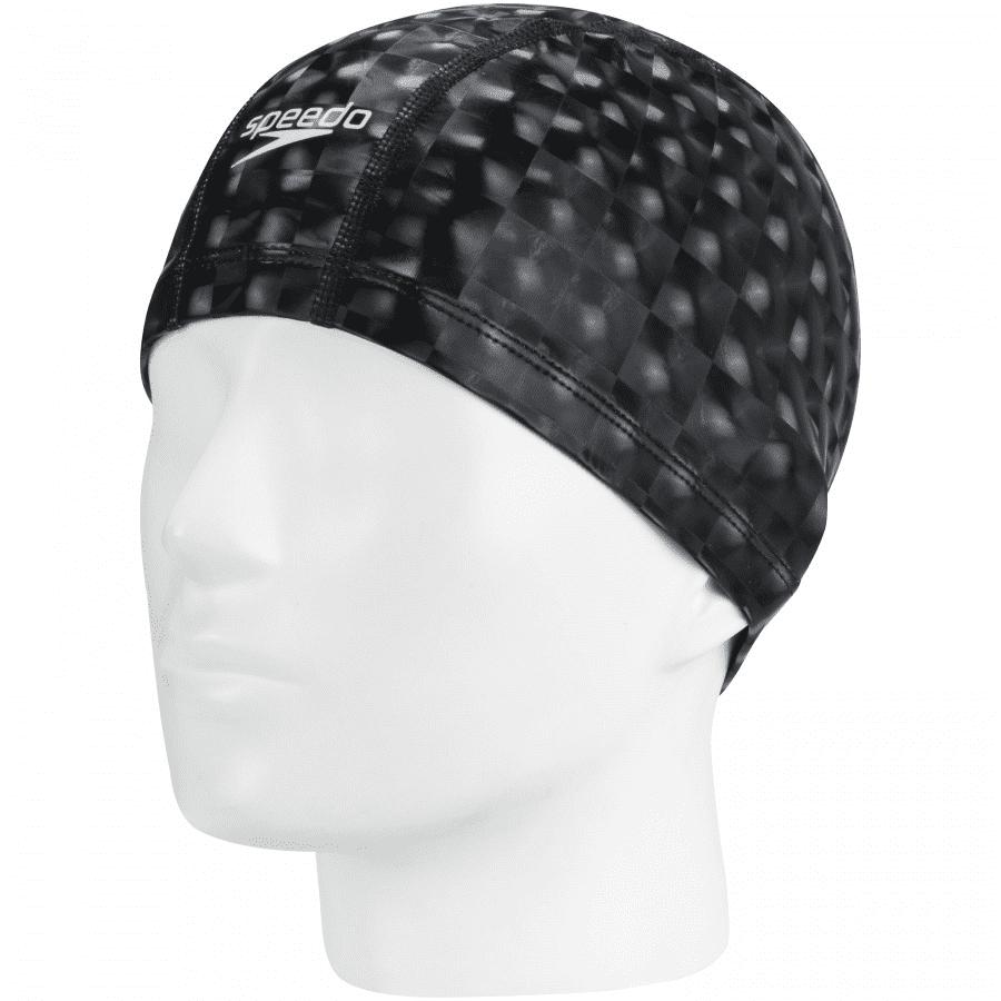 TOUCA DE NATAÇÃO COMFORT 3D CAP PRETO - SPEEDO
