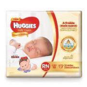 Fralda Huggies Soft Touch Jumbo RN 18 Unidades