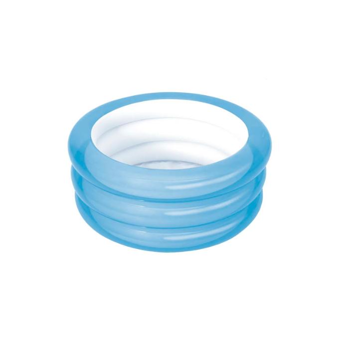 Banheira Piscina Inflável Infantil Azul 80 Litros Mor