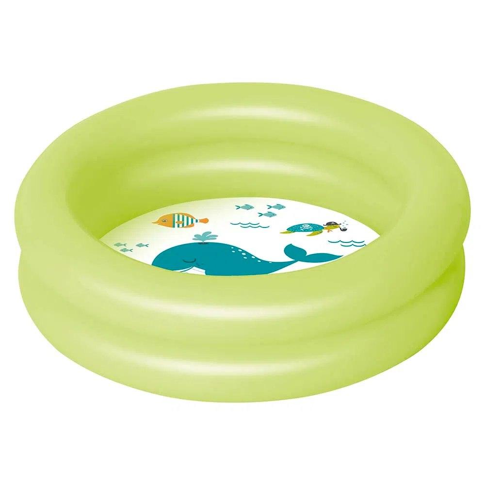 Banheira Piscina Inflável Infantil  Verde 28 Litros Mor