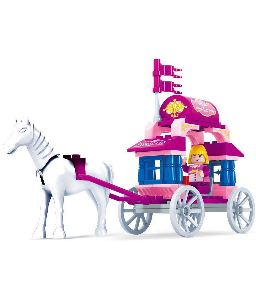 Blocos de montar Fairyland 24201 com 57 pçs brinquedo criativo Ausini