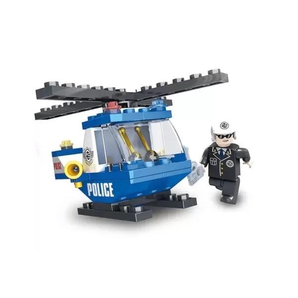 Blocos de Montar Police Defensores da Ordem Escolta Aerea 47 Pçs Xalingo