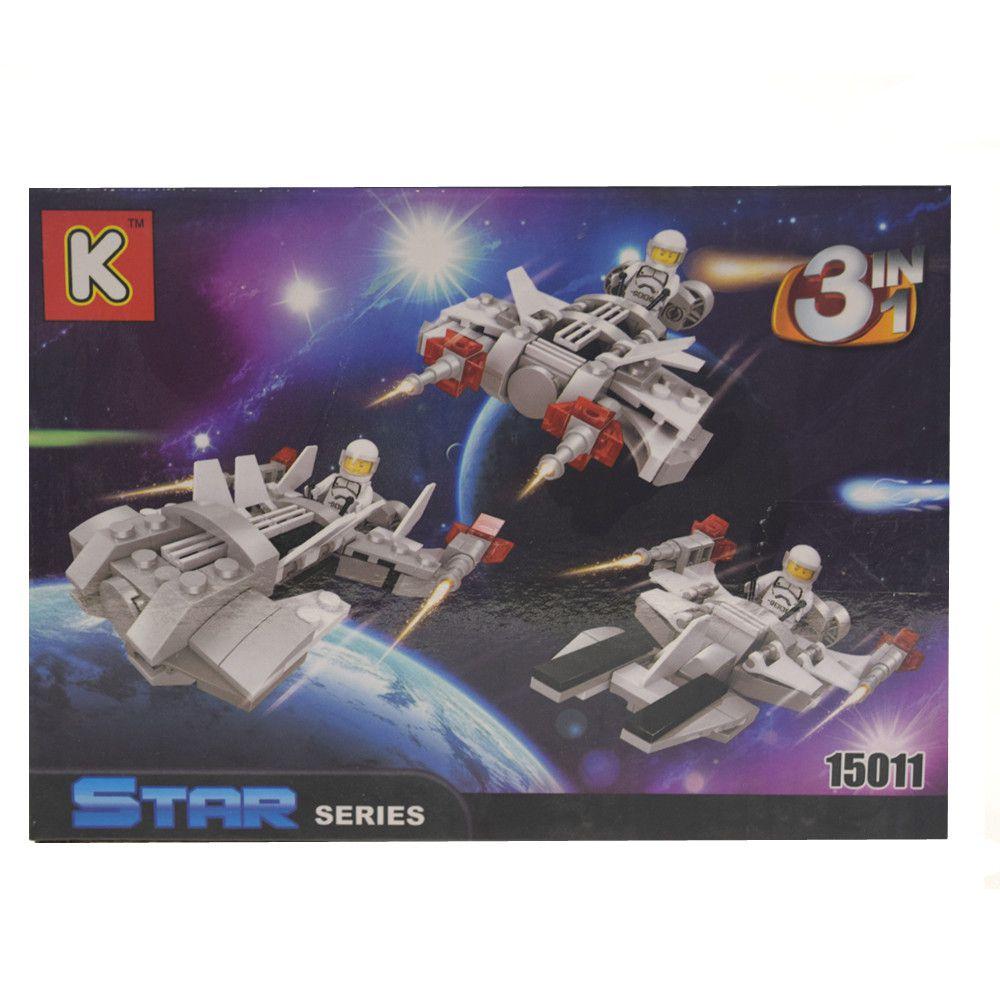 Blocos de Montar Star Series 15011 com 114pçs
