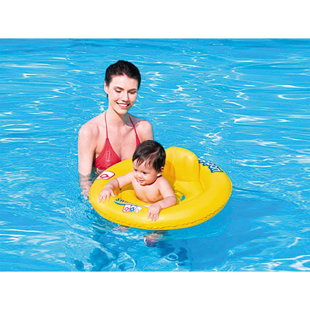 Boia Bote Inflável Infantil Swim Safe ABC com Assento Bestway
