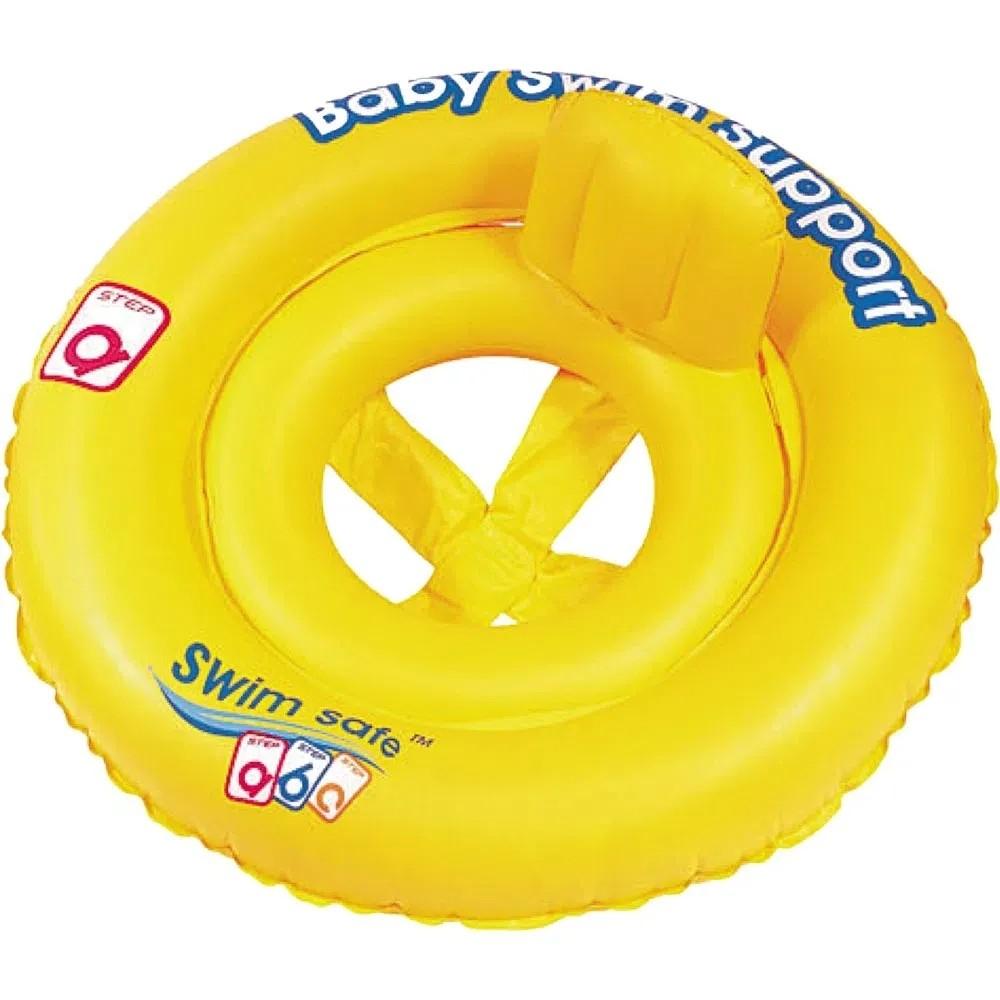 Boia Bote Inflável Infantil Swim Safe ABC com Fralda Mor