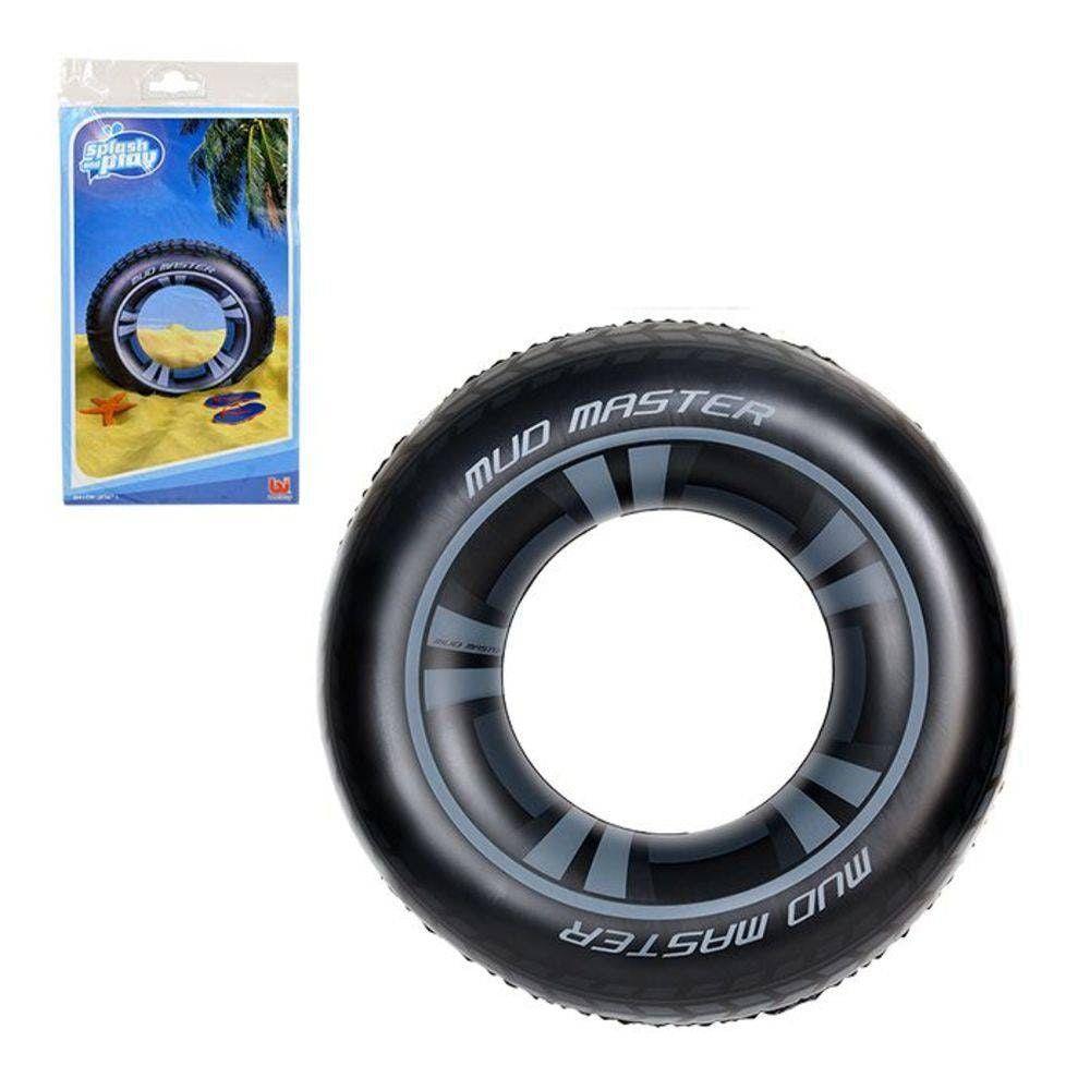Boia Inflável Circular em Formato de Pneu com 91cm Bestway