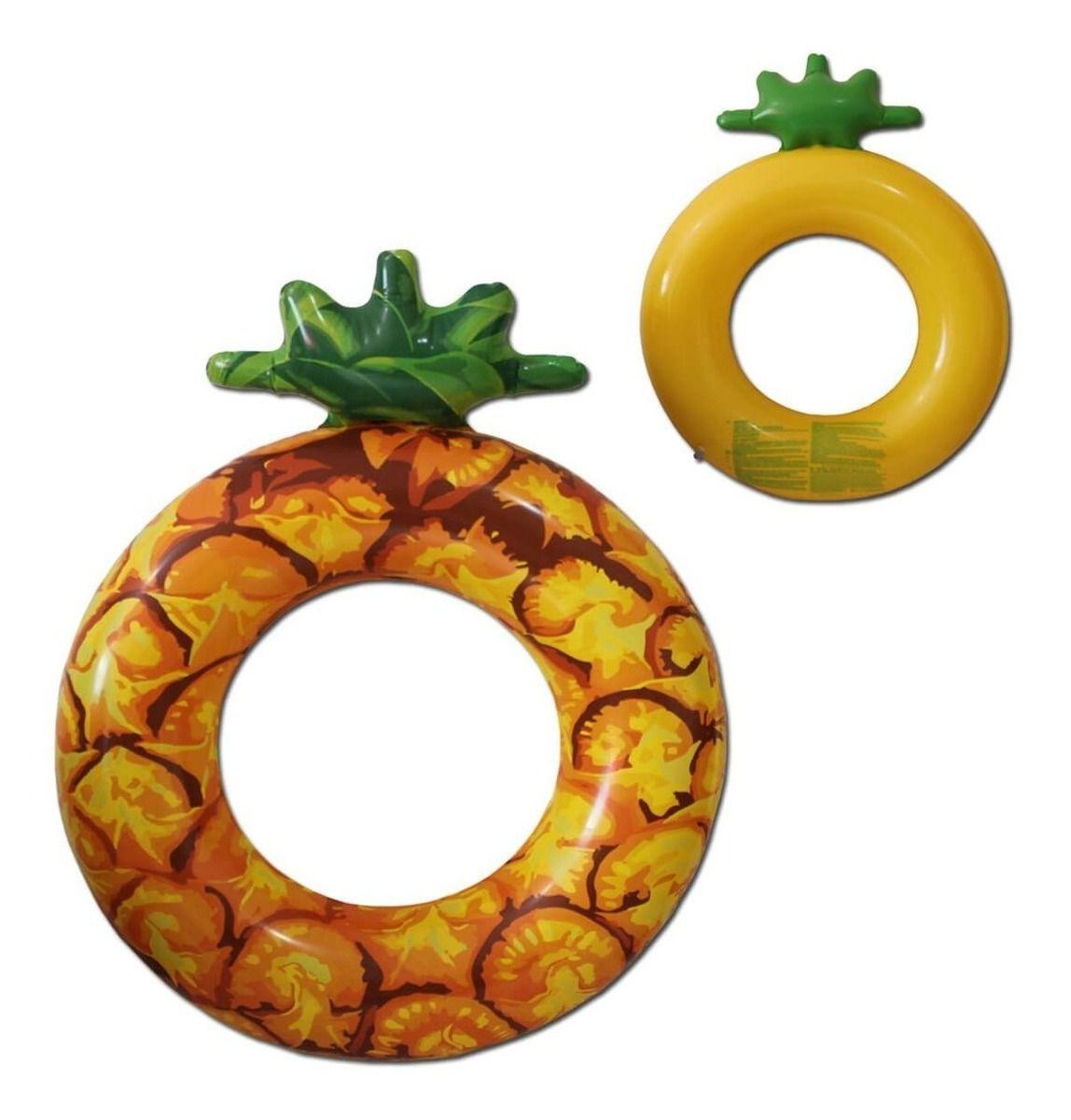 Boia Inflável Circular Frutas Diversas Bestway