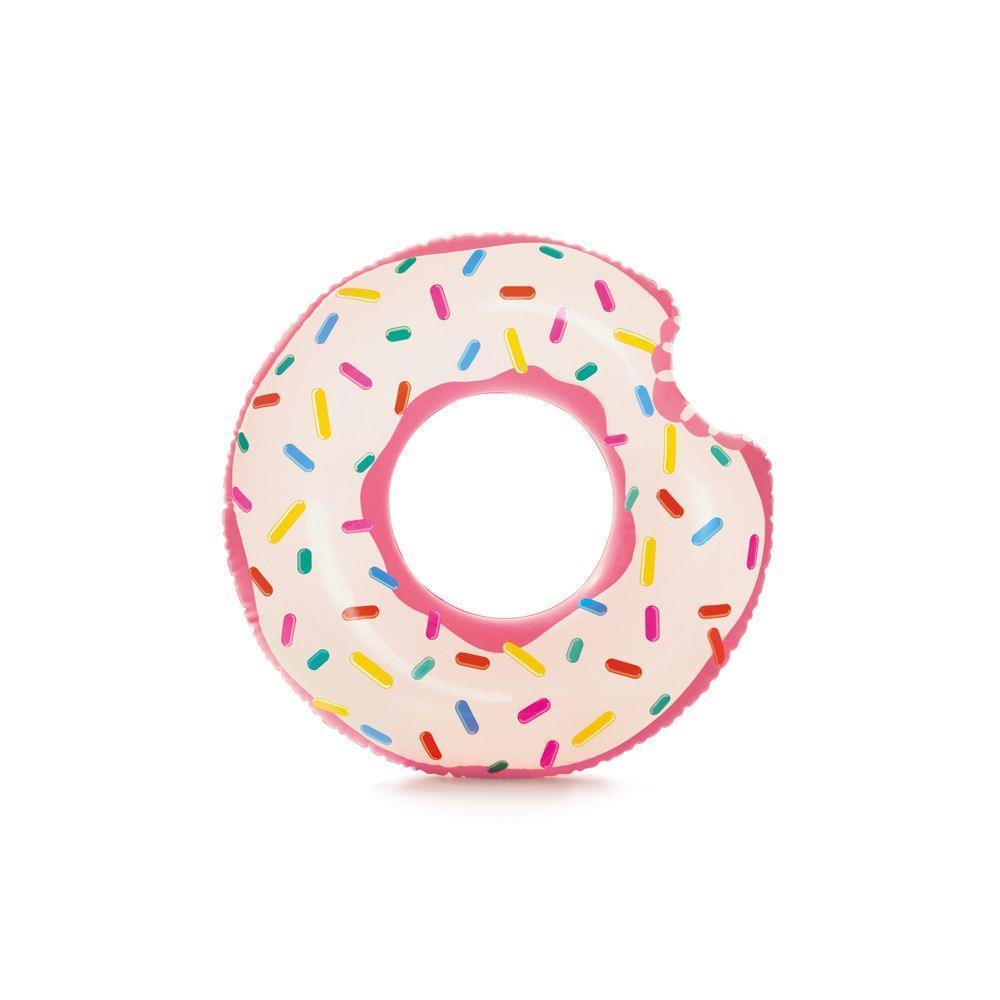 Boia Inflável Donut Tube Rosquinha Mordida Cores Sortidas Intex