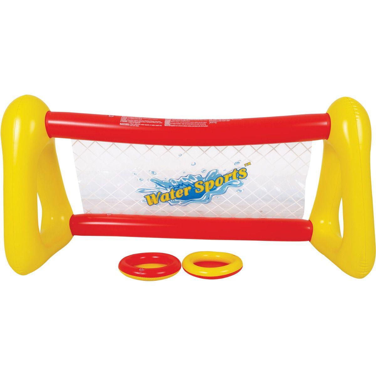 Boia Inflável Kit Frisbee Conjunto de Discos Voadores Aquáticos Jilong