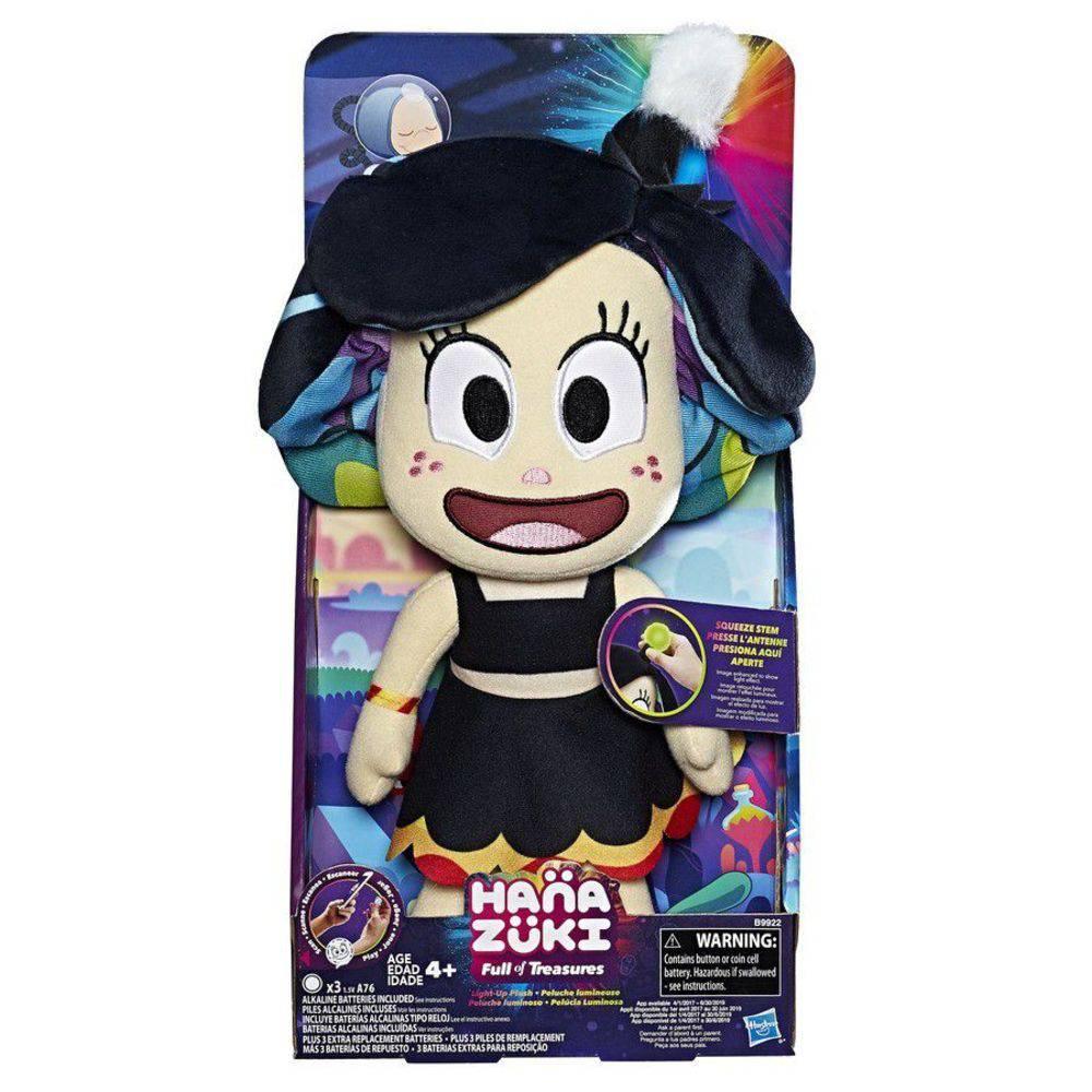 Boneca de Pelucia Hanazuki Luminosa 30cm Hasbro