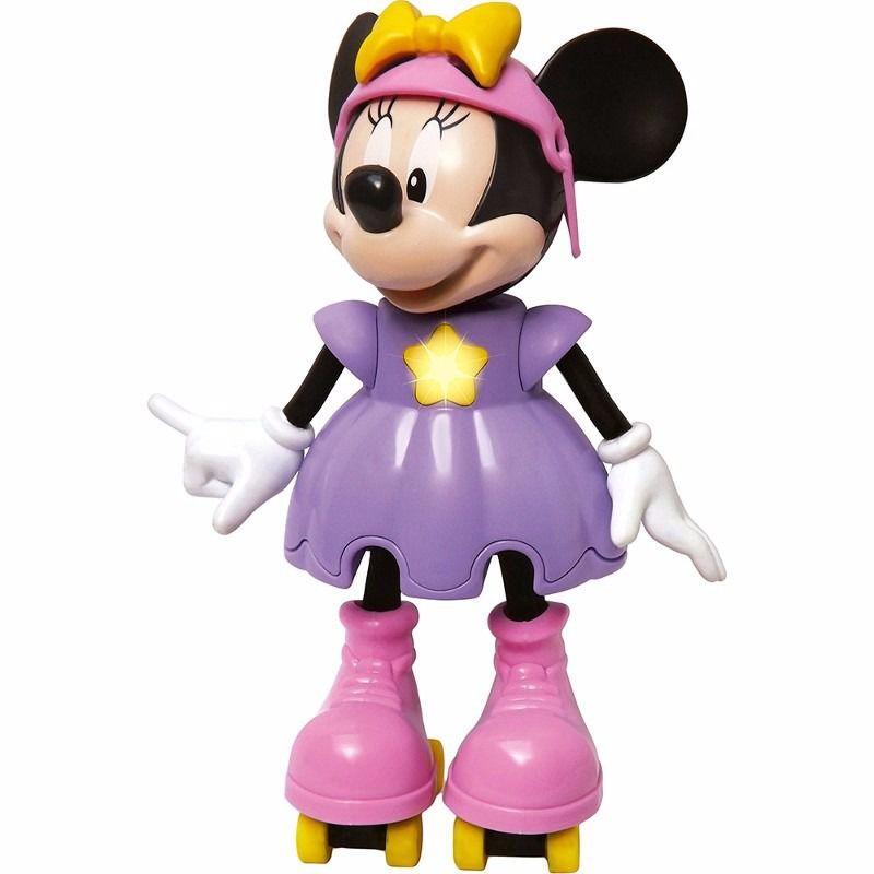 Boneca Minnie Patinadora que Fala Frases Elka