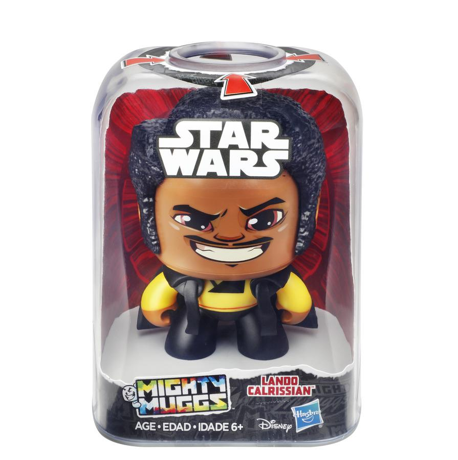 Boneco Colecionável Star Wars Mighty Muggs Lando Calrissian Hasbro