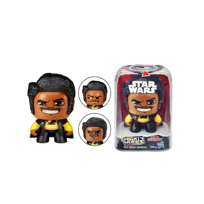Boneco Colecionável Star Wars Mighty Muggs Lando Calrissian Hasbro