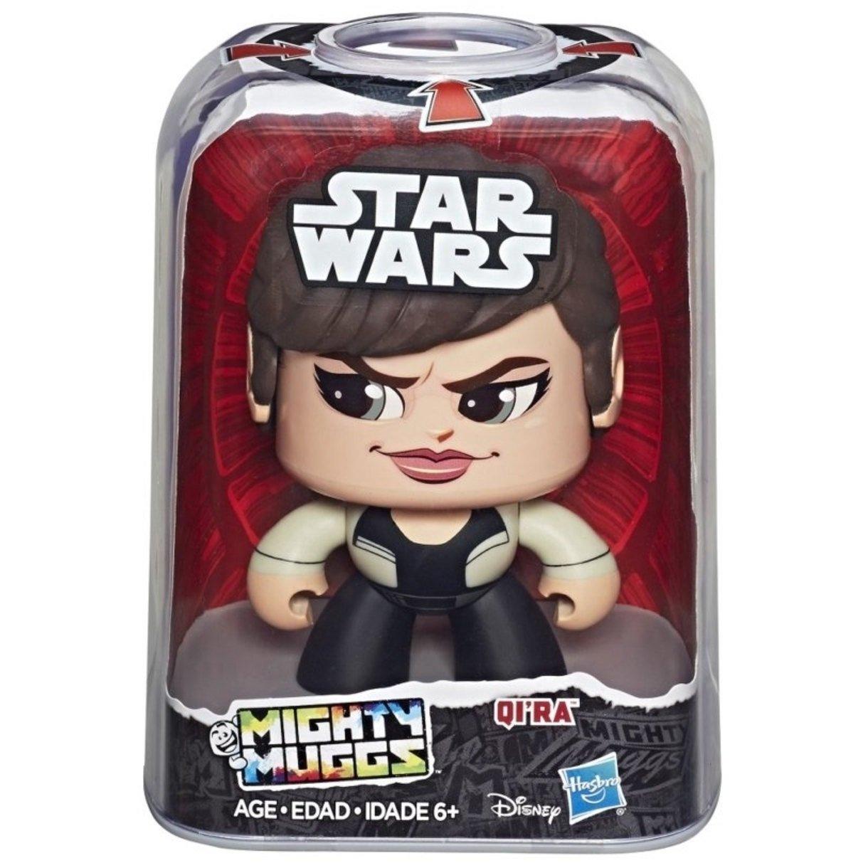 Boneco Colecionável Star Wars Mighty Muggs Qira Hasbro