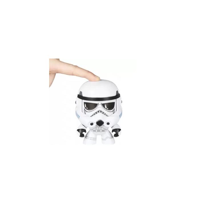 Boneco Colecionável Star Wars Mighty Muggs Stormtrooper Hasbro