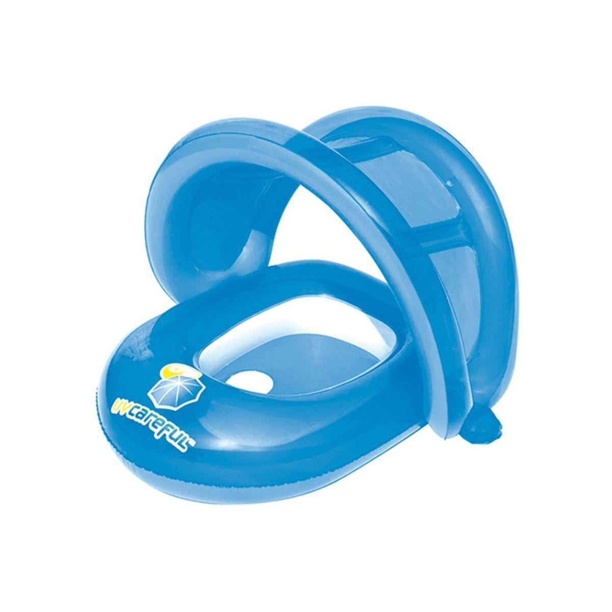 Bote Boia Inflavel Infantil com Cobertura Cuidados com o Bebe Bestway