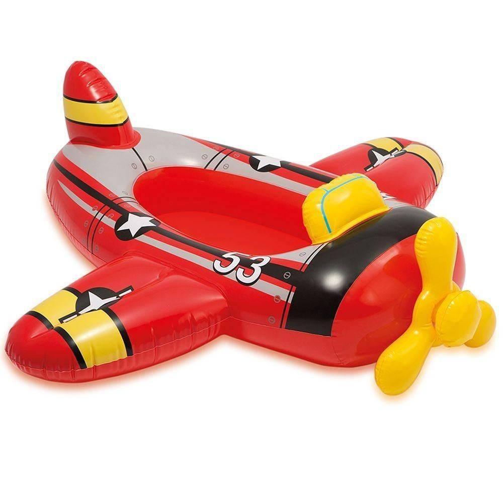 Bote Inflável Infantil Cruisers Avião Intex